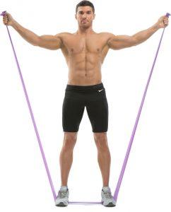 Упражнения с резинкой для фитнеса для рук