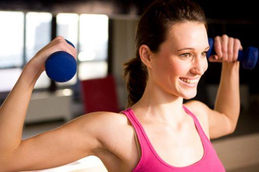упражнения на руки для девушек дома