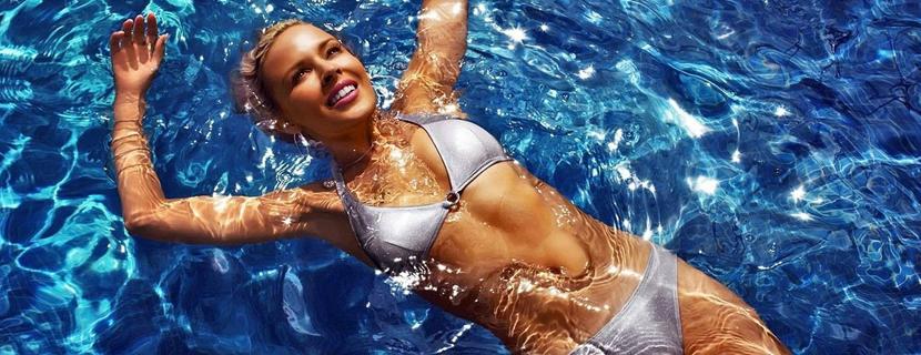 как плавать чтобы убрать живот