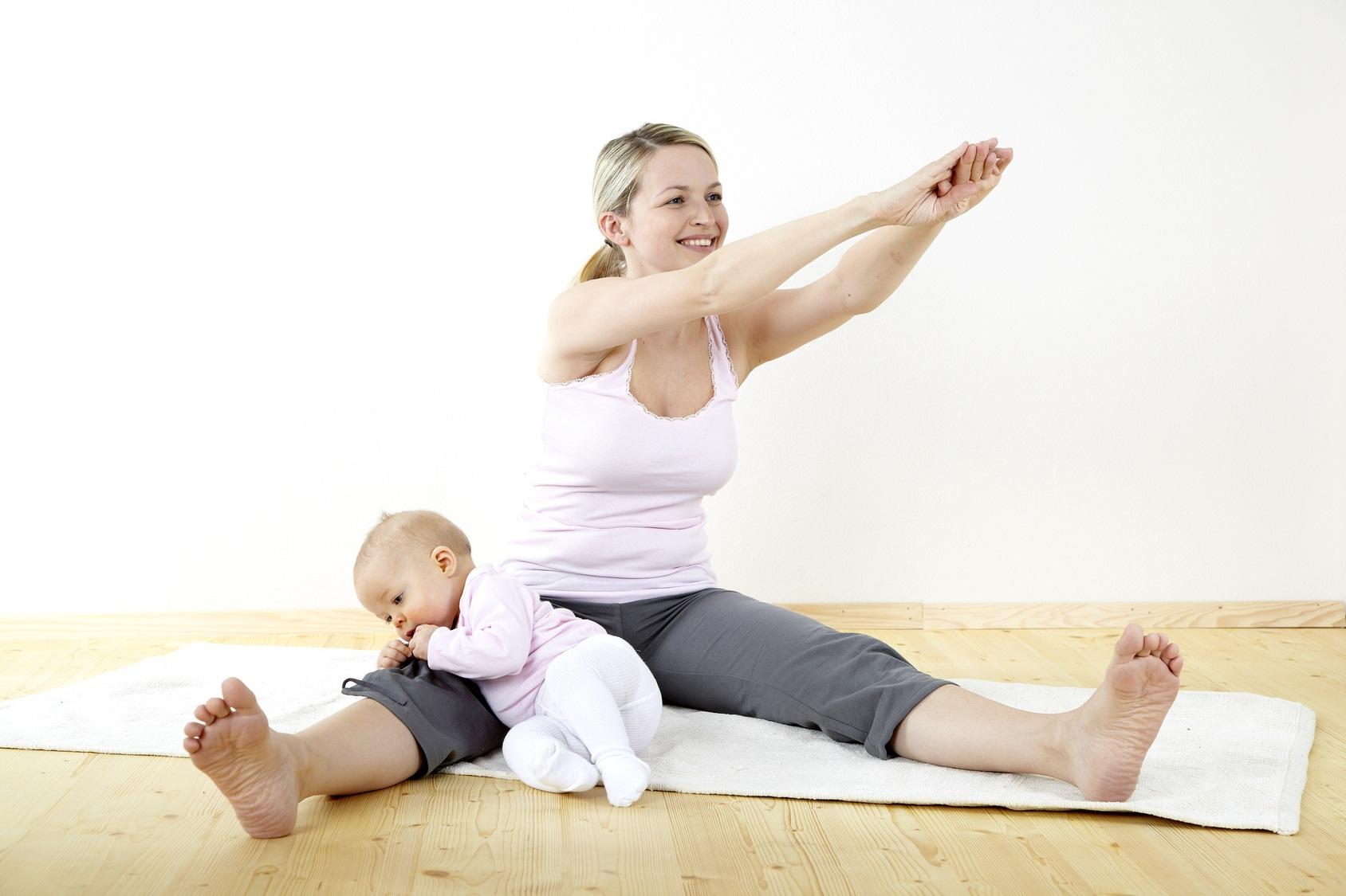 как быстро похудеть после родов при гв
