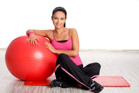 фитбол упражнения для похудения