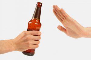 Никакого пива и алкоголя!