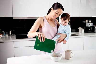 как убрать живот кормящей маме