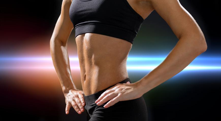 Похудение с упражнением вакуум для живота