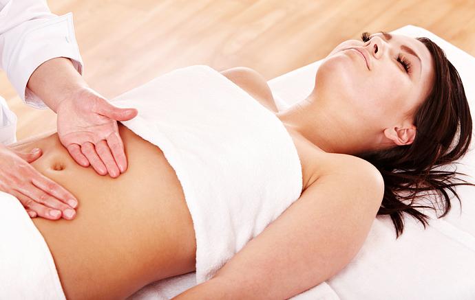 Самомассаж и упражнения для похудения живота