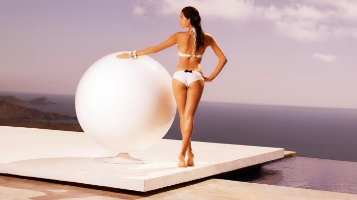 Упражнения для похудения с мячом