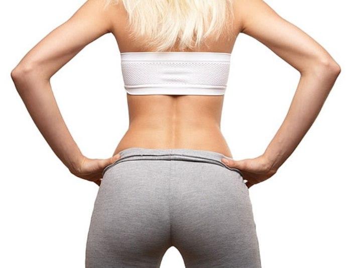 упражнения для уменьшения бедер и ягодиц