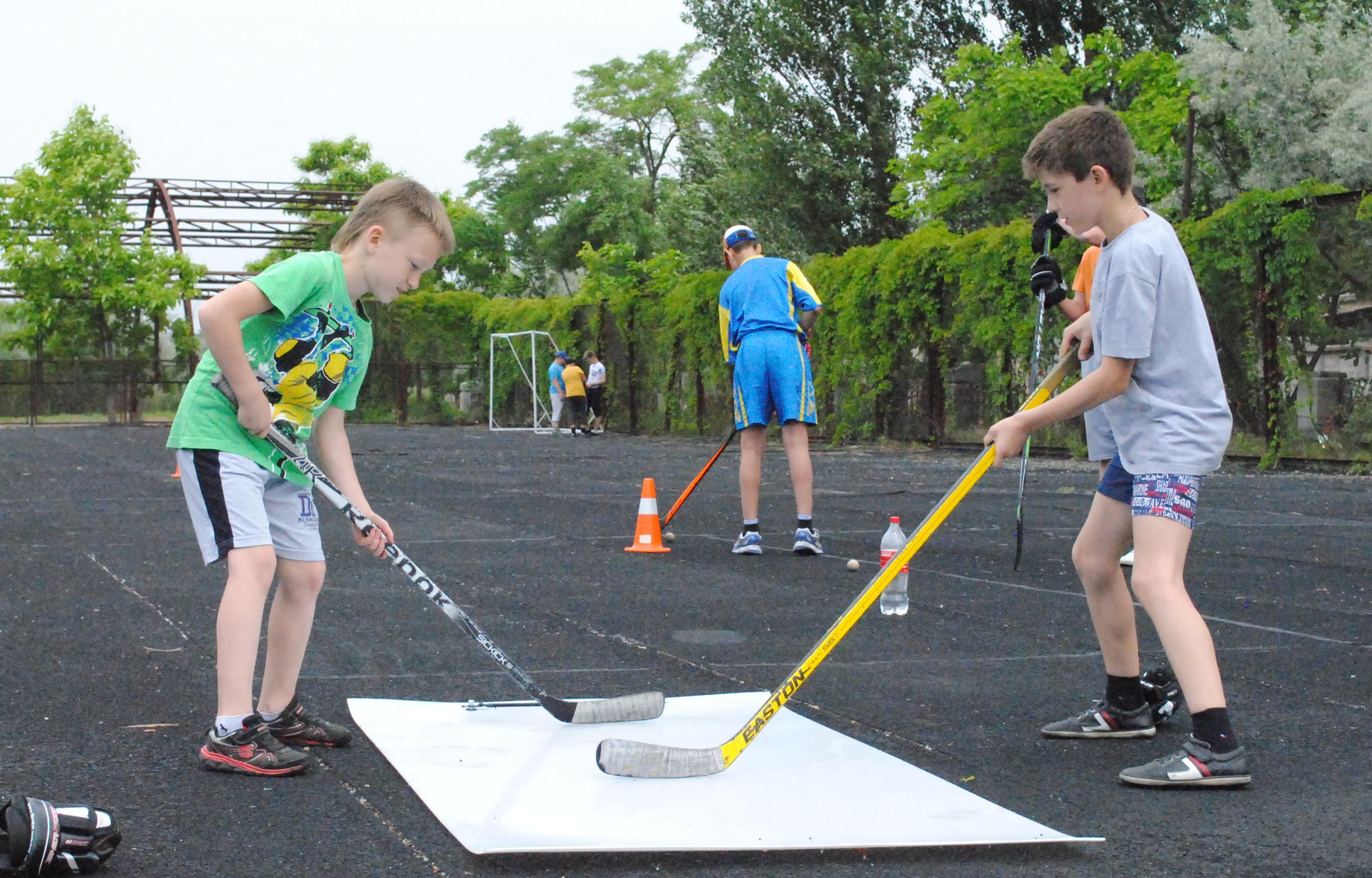 Особенности летних хоккейных лагерей