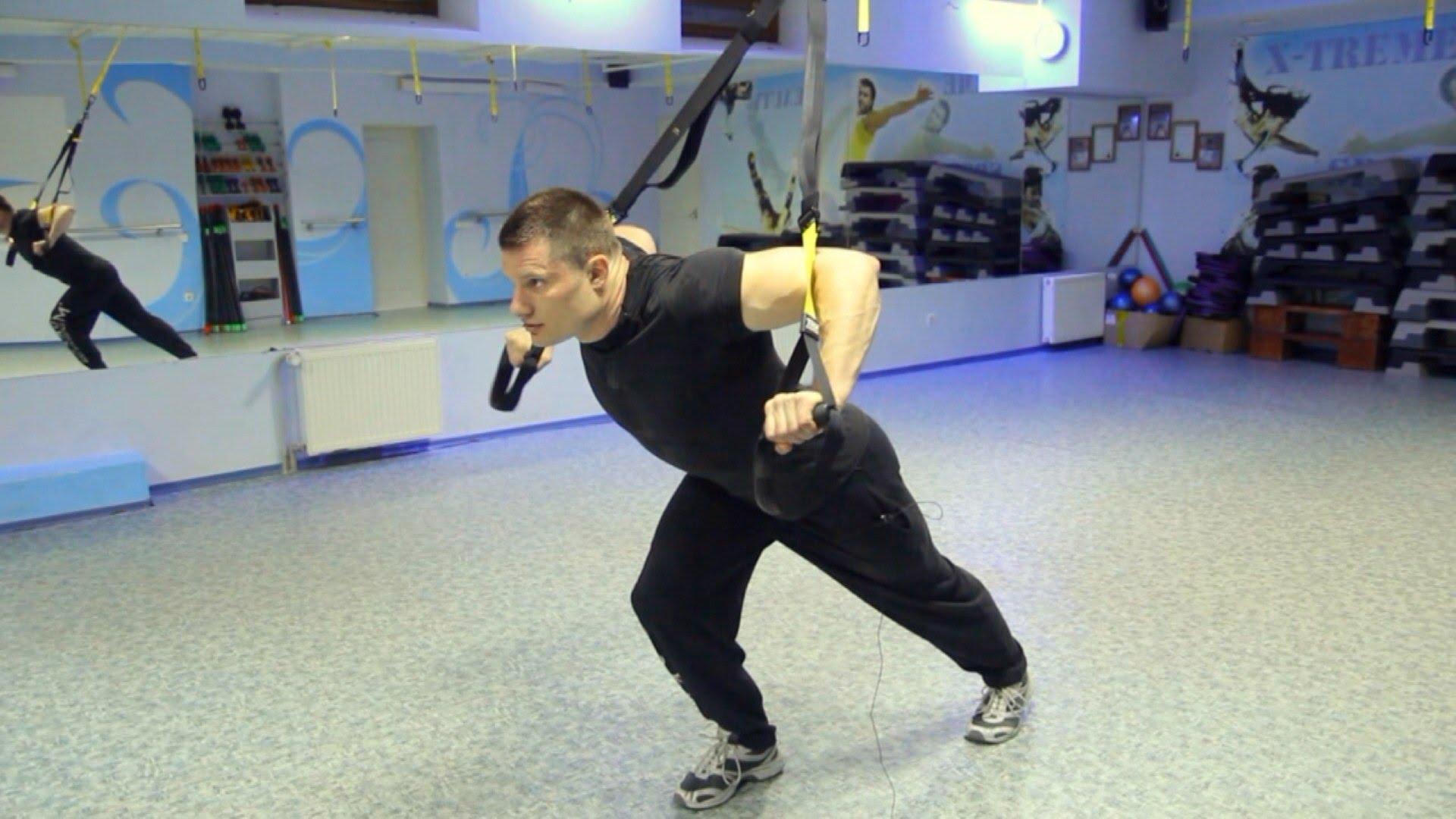 Сильнее, быстрее, выносливее с TRX тренировками