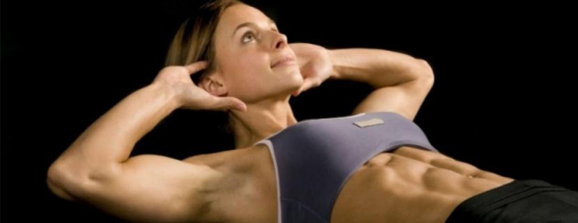 4 жиросжигающих упражнения для живота