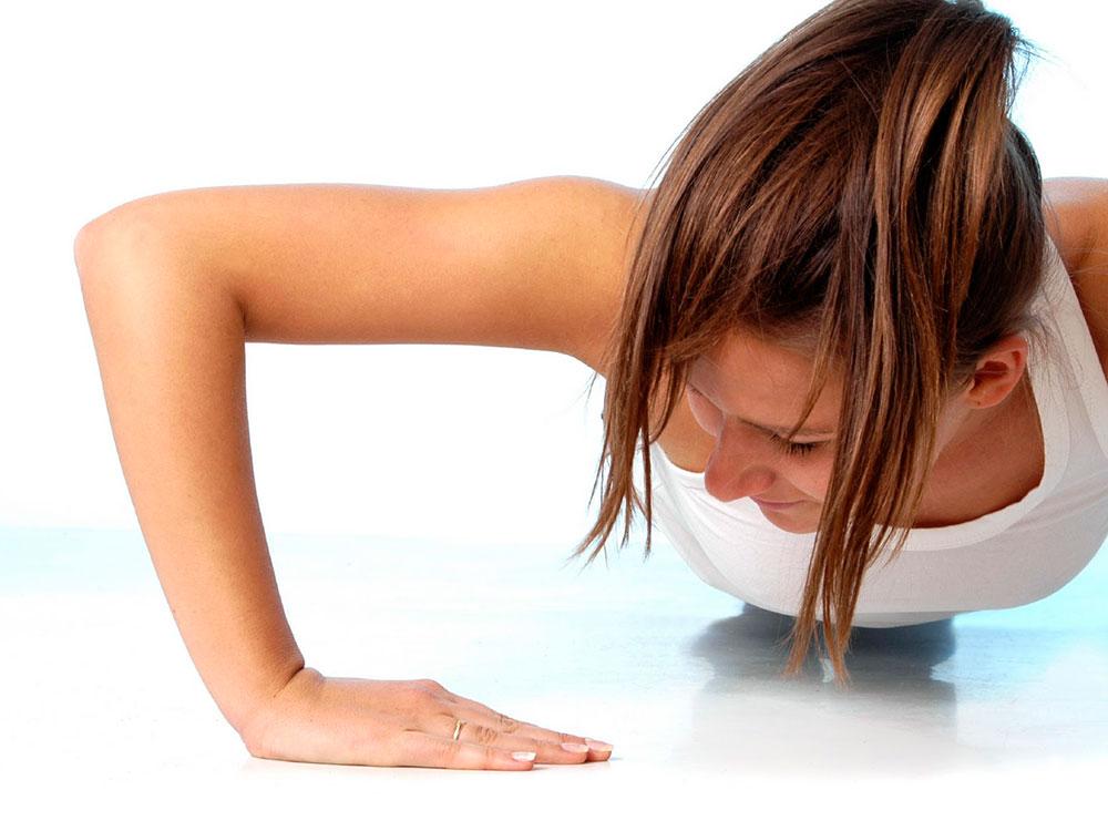 5 упражнений чтобы подтянуть руки