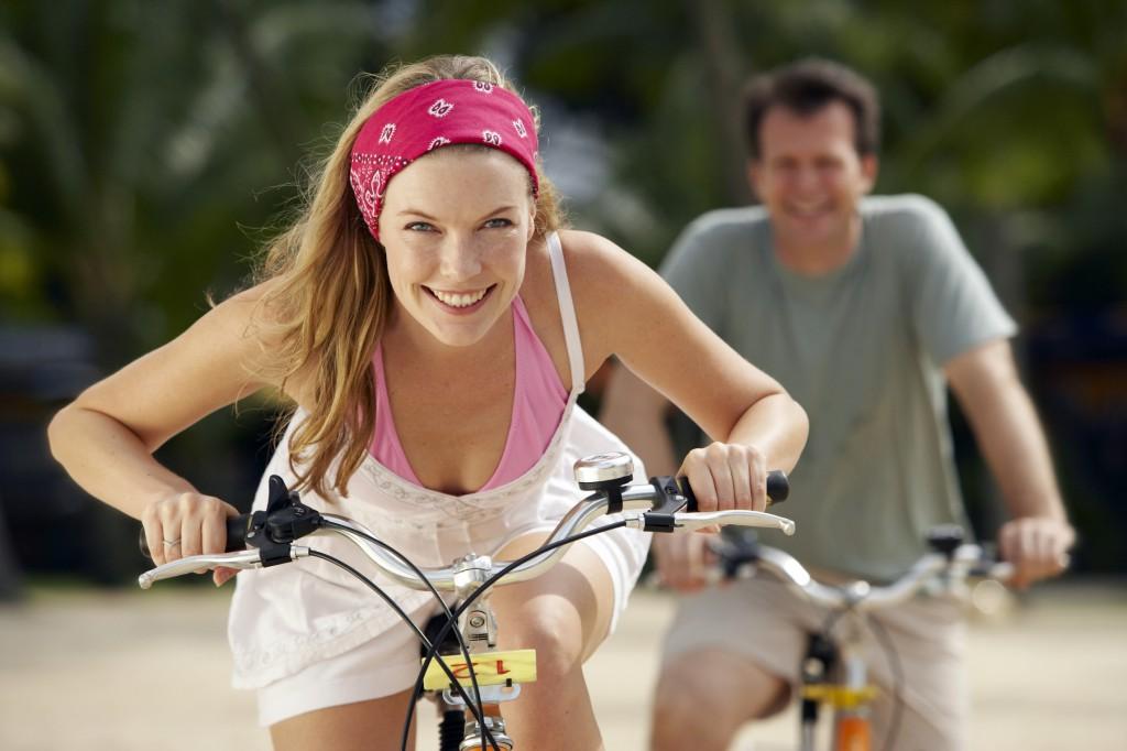 как похудеть с велосипедом