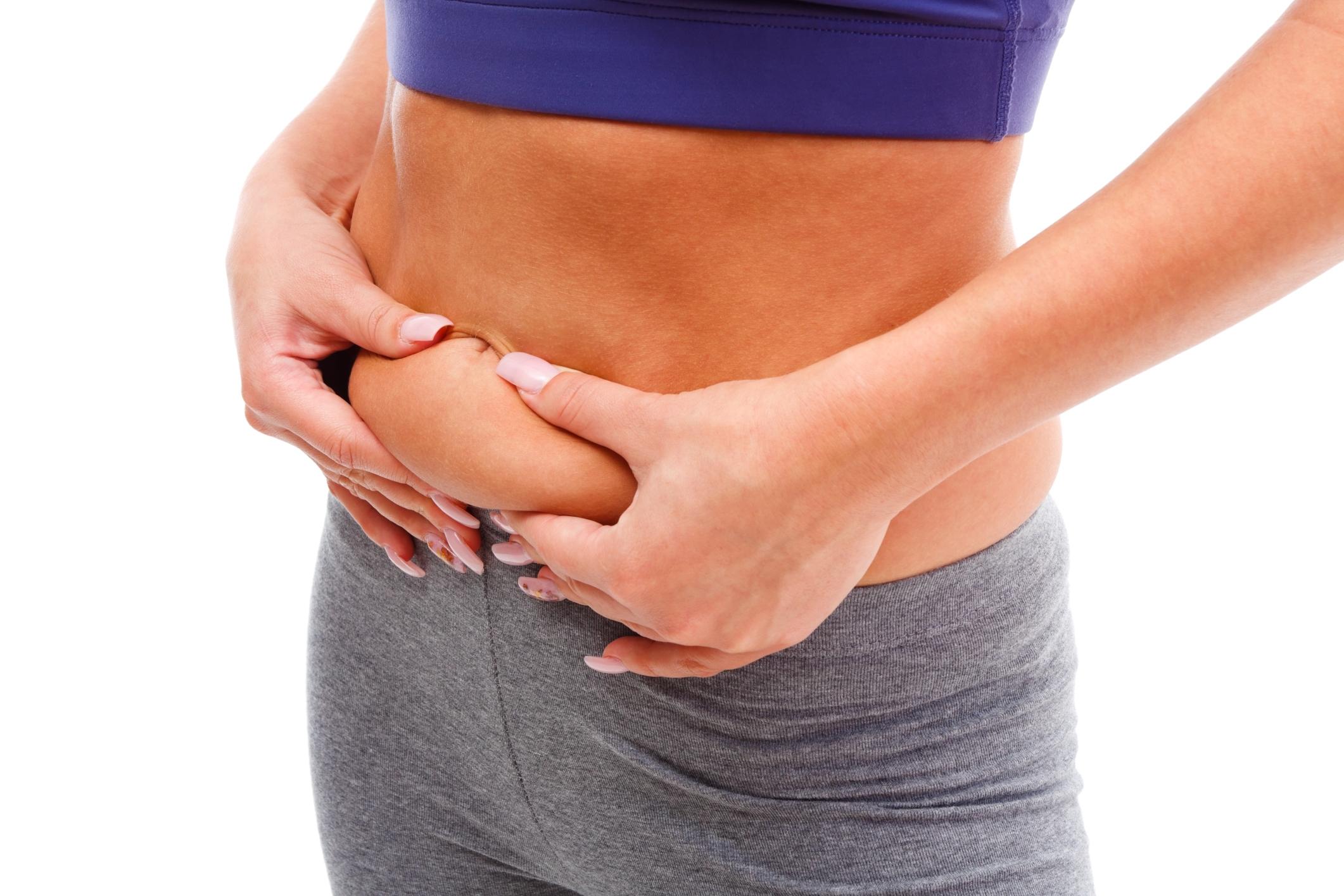 Как похудеть в нижней части живота: питание и спорт