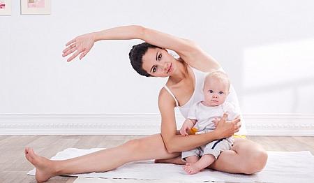 Как сбросить вес после рождения ребенка