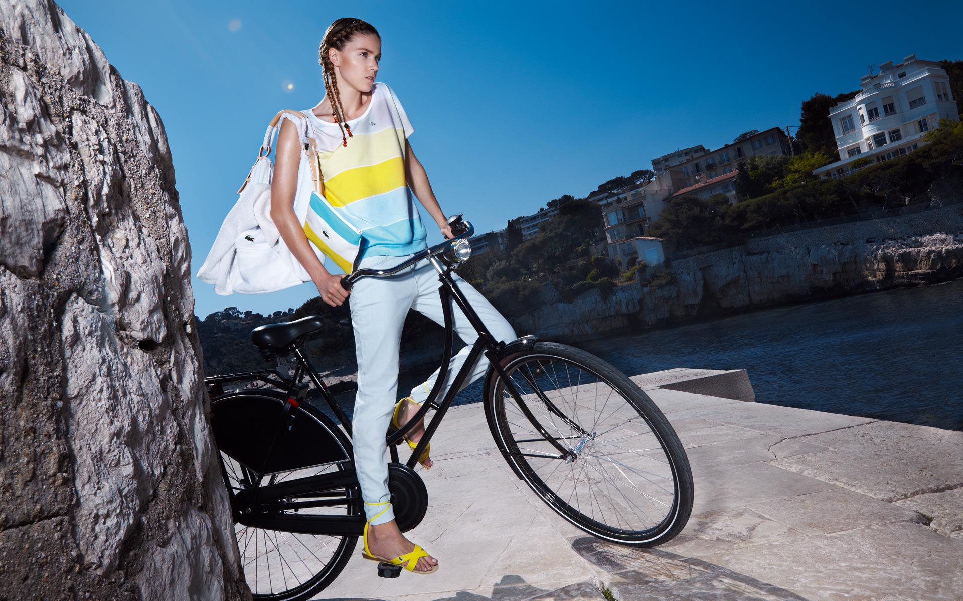 Поможет ли велосипед убрать живот