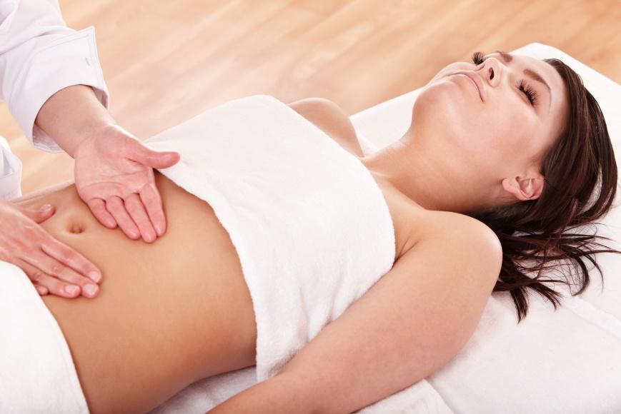 массаж для похудения живота в домашних условиях