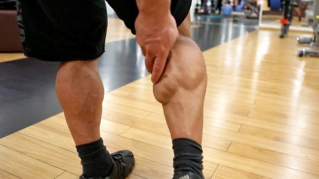 Упражнения для похудения икр ног
