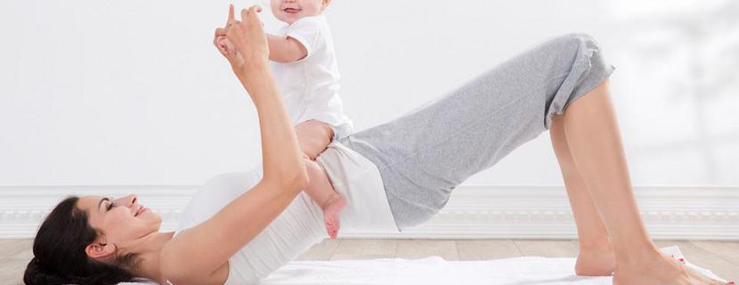 упражнения с ребенком на руках