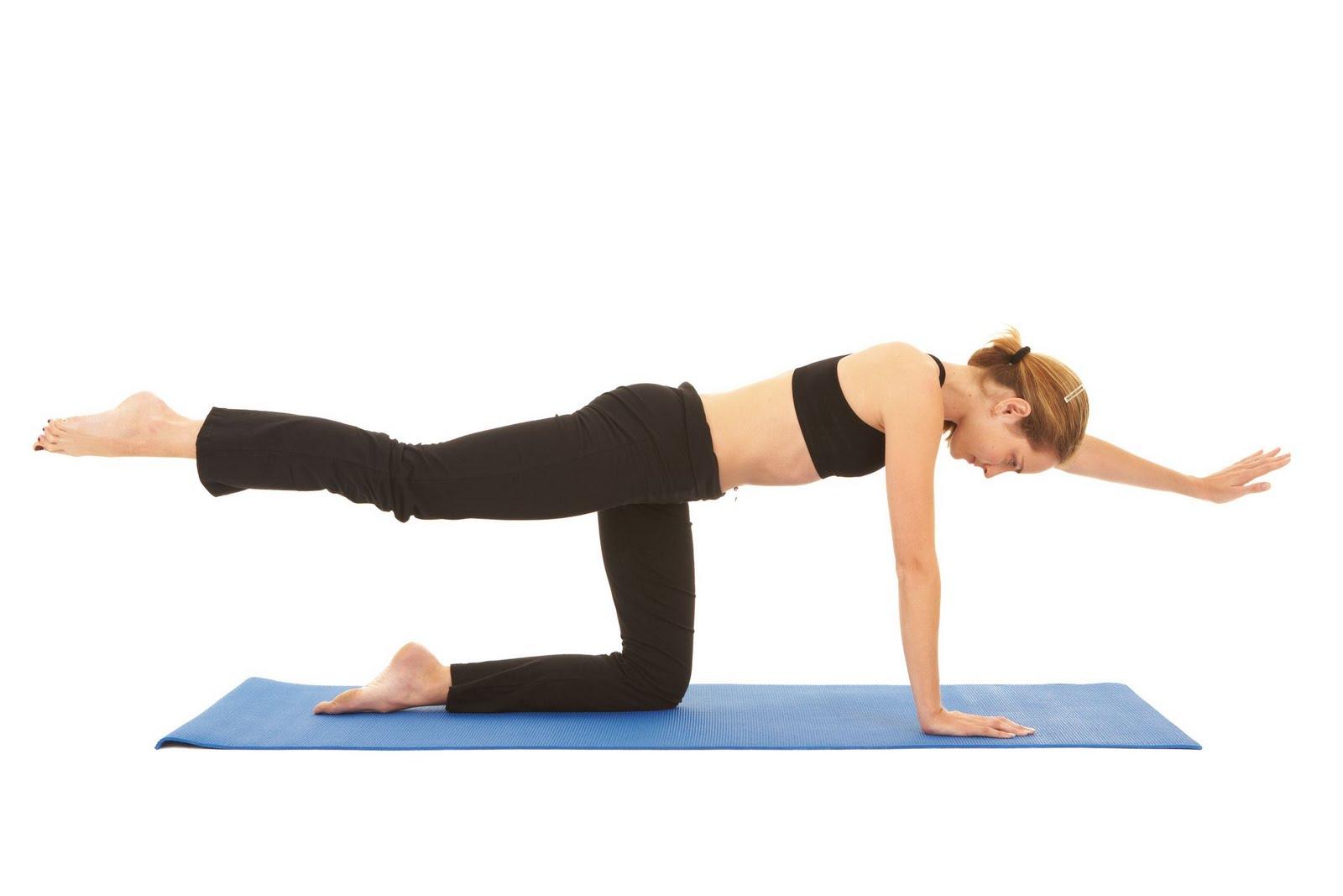 Упражнения системы пилатес для похудения