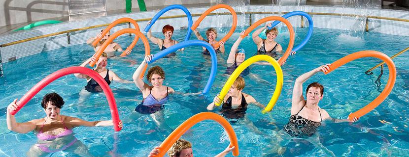 Упражнения водной гимнастики для похудения