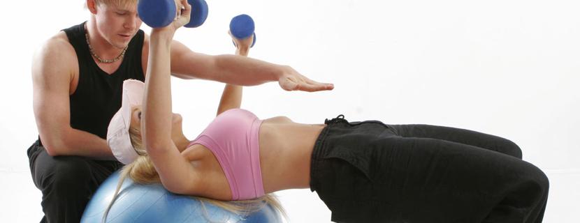 Упражнения на шаре для фитнеса