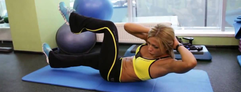 как убрать живот за месяц упражнения