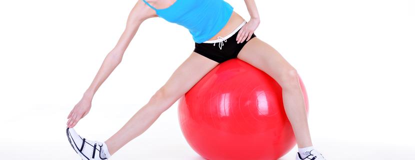 упражнения для ягодиц с мячом