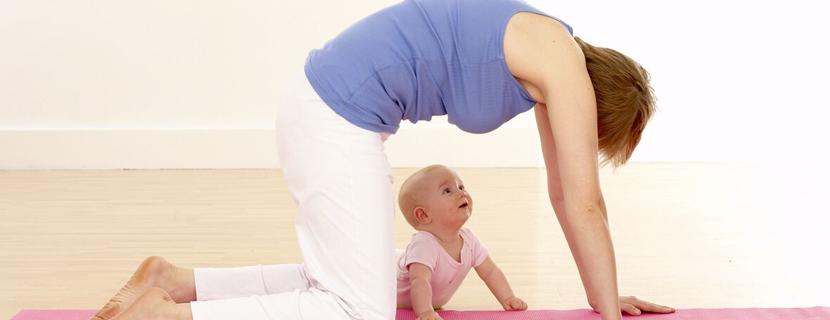 как убрать живот после родов в домашних