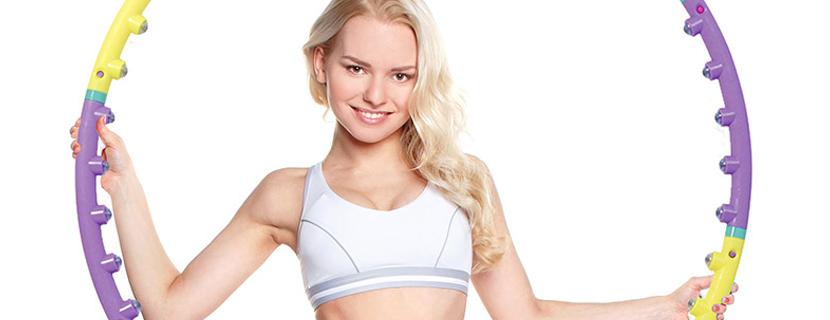 упражнения для похудения с обручем