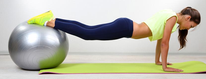 фитнес мяч упражнения