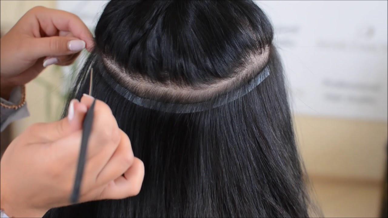 Профессиональное наращивание волос от Esendi