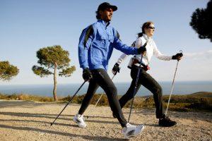 Скандинавская ходьба – замена лыжам, или нет?