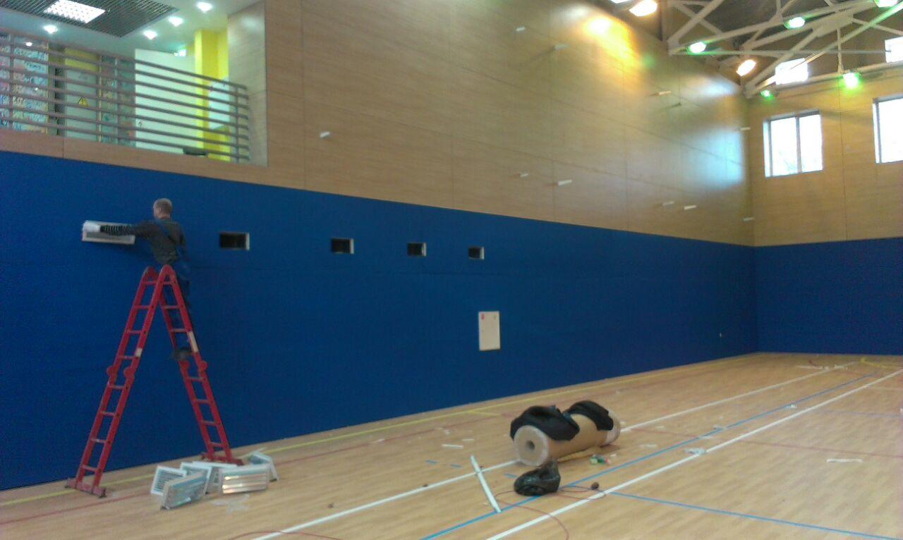 Стеновые маты: современная защита на тренировках