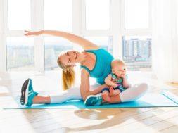 Здоровые и спортивные советы для молодых мам