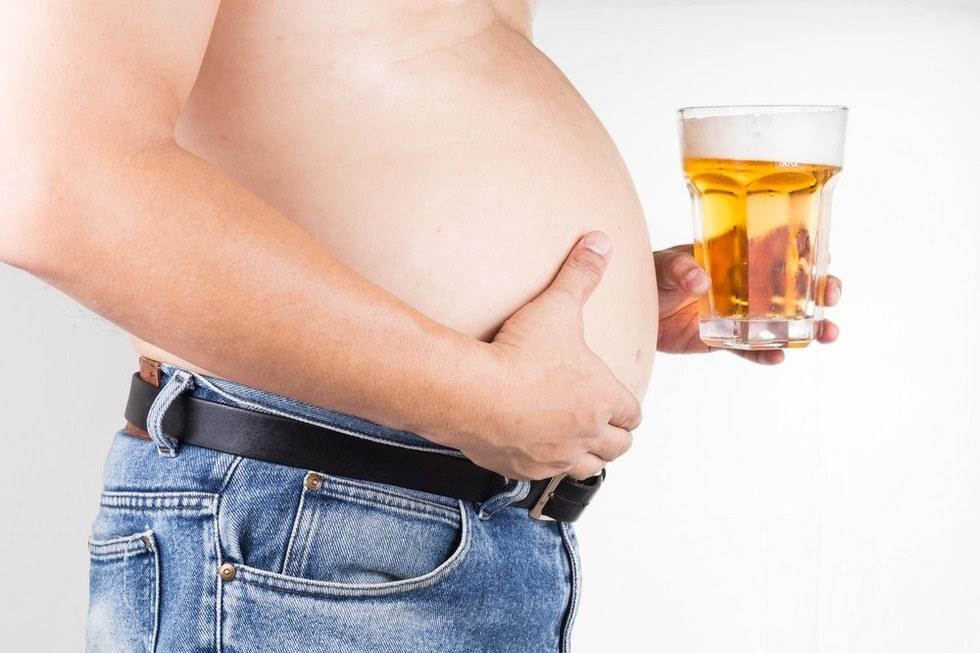 Как убрать пивной живот: полезные советы