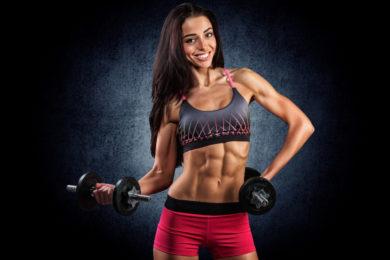 Упражнения для сушки мышц